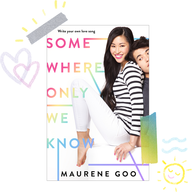 cover image Somewhere Only We Know by Maurene Goo